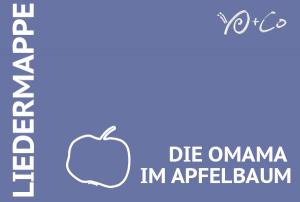 Die Omama im Apfelbaum